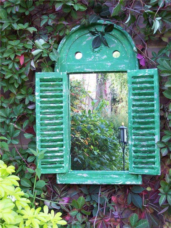 25+ Best Garden Mirrors Ideas On Pinterest | Outdoor Mirror, Small Intended For Garden Wall Mirrors (#5 of 20)