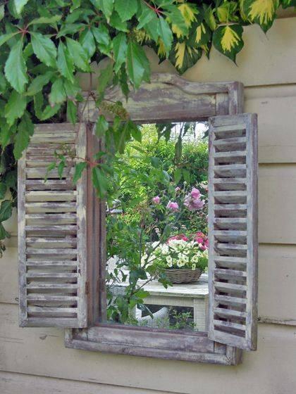 25+ Best Garden Mirrors Ideas On Pinterest | Outdoor Mirror, Small Pertaining To Garden Wall Mirrors (#6 of 20)