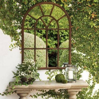 25+ Best Garden Mirrors Ideas On Pinterest | Outdoor Mirror, Small Within Large Outdoor Garden Mirrors (#2 of 15)