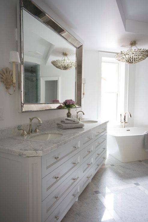 25+ Best Large Bathroom Mirrors Ideas On Pinterest | Inspired Regarding Venetian Beaded Mirrors (#1 of 30)