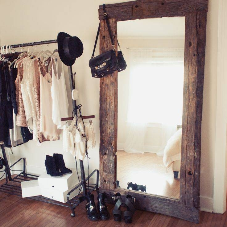 25+ Best Large Wooden Mirror Ideas On Pinterest | Pallet Mirror Intended For Big Standing Mirrors (#1 of 20)