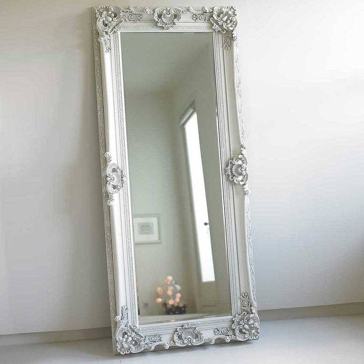 25+ Best Large Wooden Mirror Ideas On Pinterest | Pallet Mirror Pertaining To Large Silver Vintage Mirrors (#3 of 30)