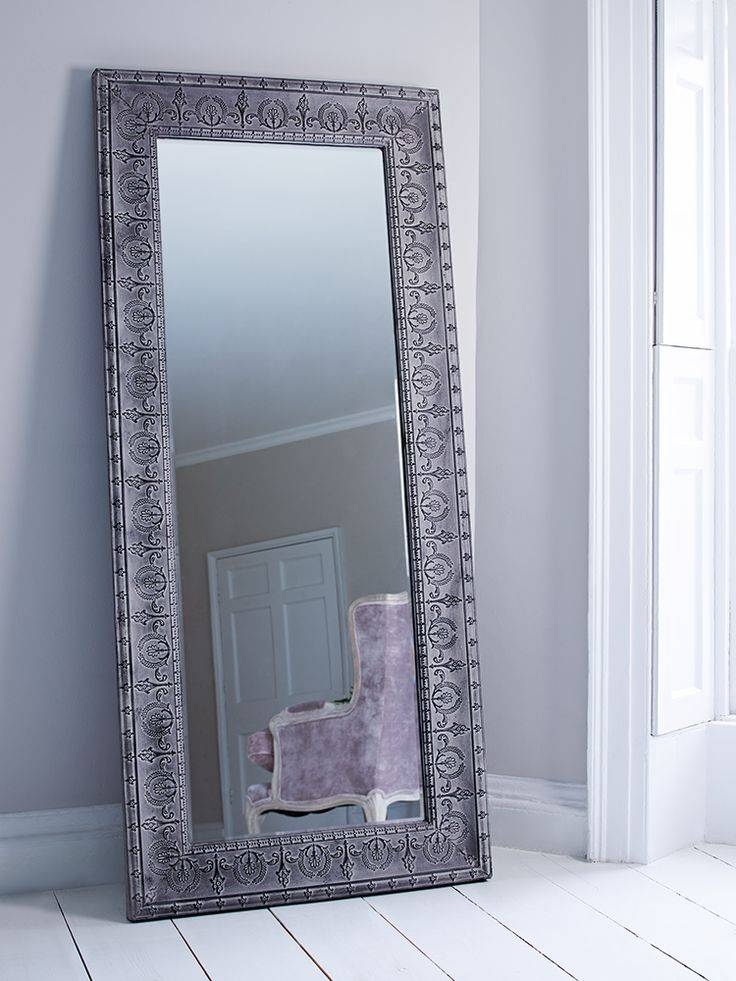 15 Best Collection Of Long Silver Wall Mirrors