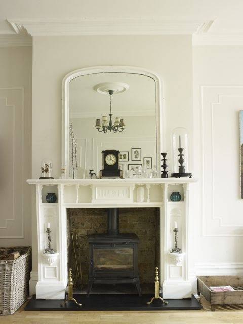 25+ Best Mirror Above Fireplace Ideas On Pinterest | Fake For Mantelpiece Mirrors (#6 of 30)