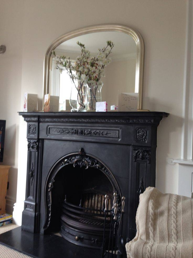 25+ Best Mirror Above Fireplace Ideas On Pinterest | Fake For Mantelpiece Mirrors (#5 of 30)