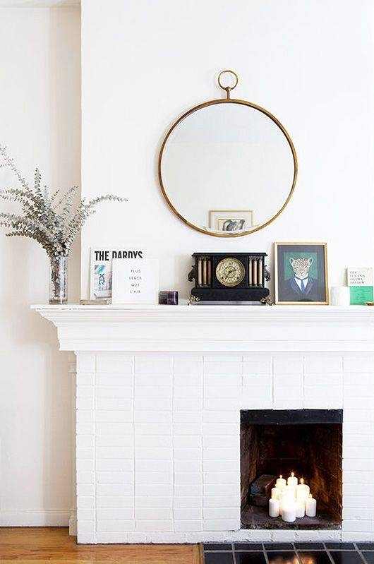 25+ Best Mirror Above Fireplace Ideas On Pinterest | Fake In Mantelpiece Mirrors (#8 of 30)