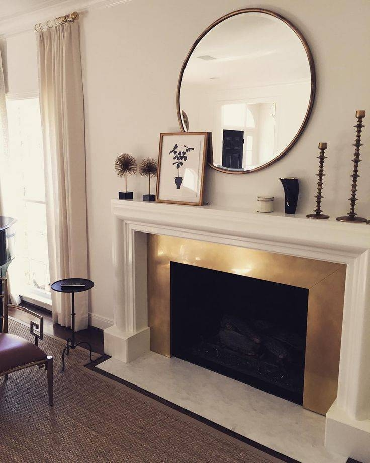 25+ Best Mirror Above Fireplace Ideas On Pinterest | Fake In Mantelpiece Mirrors (#7 of 30)