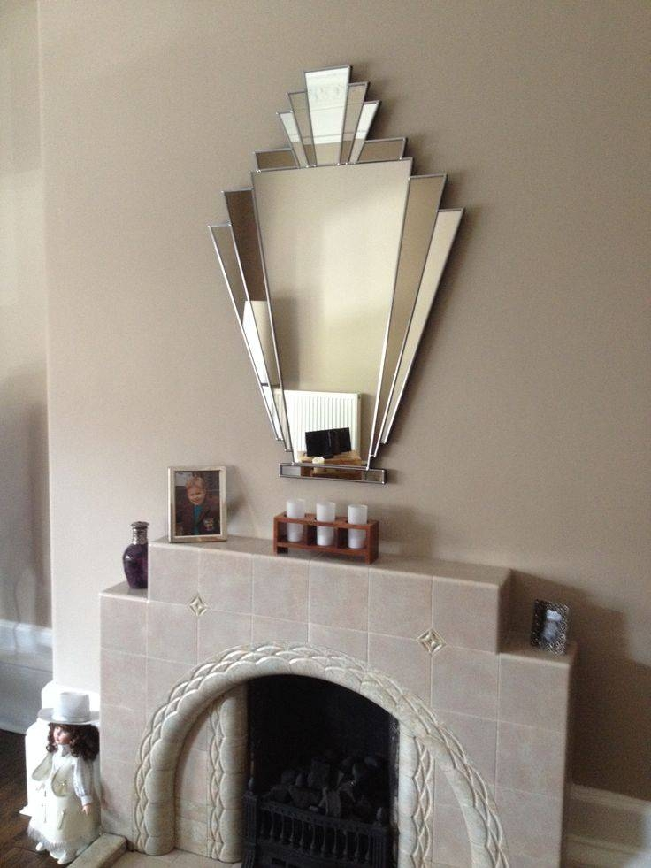 Inspiration about 25+ Best Mirror Above Fireplace Ideas On Pinterest | Fake Inside Mantelpiece Mirrors (#25 of 30)