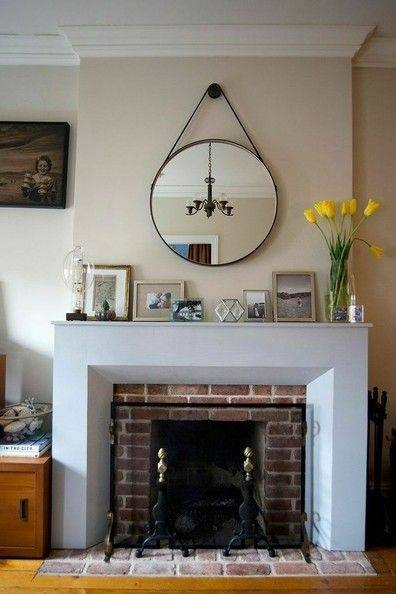 25+ Best Mirror Above Fireplace Ideas On Pinterest | Fake Regarding Mantelpiece Mirrors (#10 of 30)