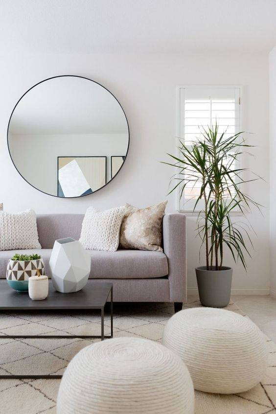Inspiration about 25+ Best Mirror Hanging Ideas On Pinterest | Small Bathroom Pertaining To Huge Round Mirrors (#21 of 30)