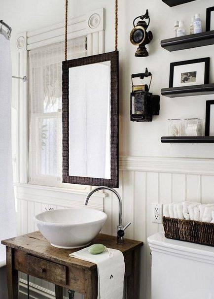 25+ Best Mirror Hanging Ideas On Pinterest | Small Bathroom Within Victorian Style Mirrors For Bathrooms (View 10 of 20)