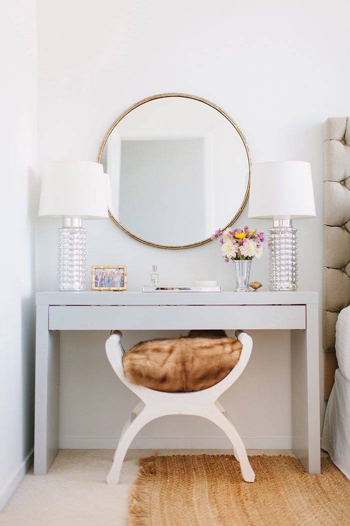 25+ Best Mirrored Vanity Table Ideas On Pinterest | White Makeup In Decorative Dressing Table Mirrors (#3 of 20)