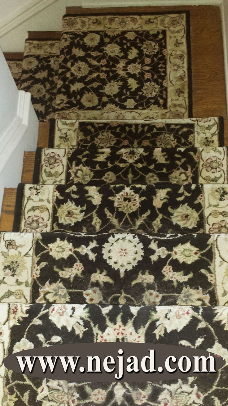 25 Best Nejad Oriental Rugs Stair Runner Installations Wwwnejad Within Rugs For Staircases (#3 of 20)