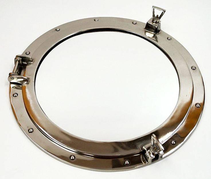 25+ Best Porthole Mirror Ideas On Pinterest | Nautical Mirror In Round Porthole Mirrors (View 10 of 30)