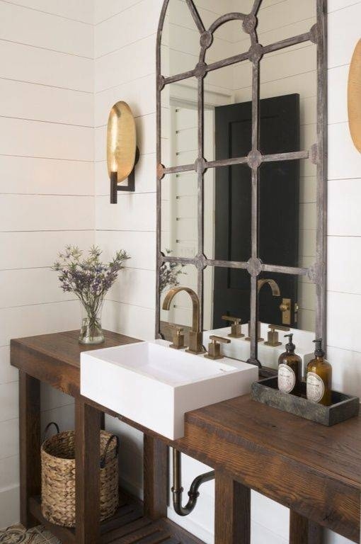25+ Best Powder Room Mirrors Ideas On Pinterest | Small Powder Intended For French Style Bathroom Mirrors (#6 of 30)