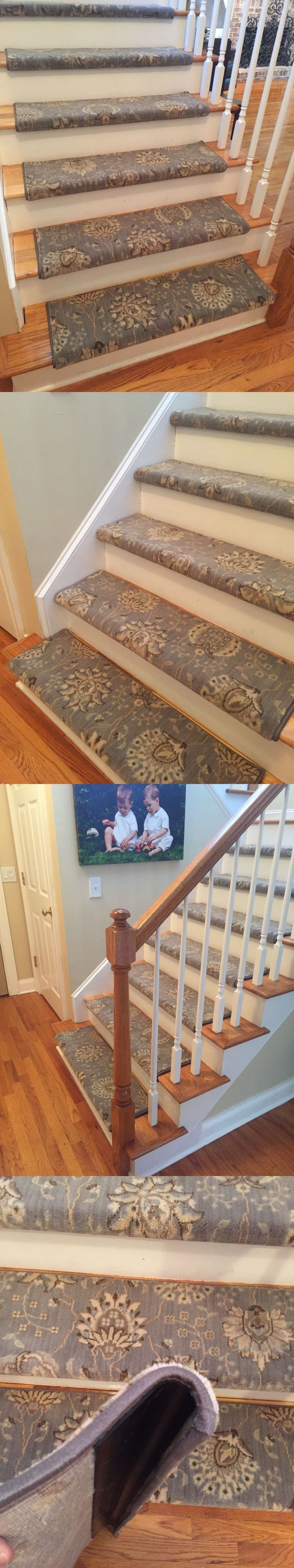 Good 25 Best Stair Treads Ideas On Pinterest Wood Stair Treads Redo Intended For Fabric  Stair Treads