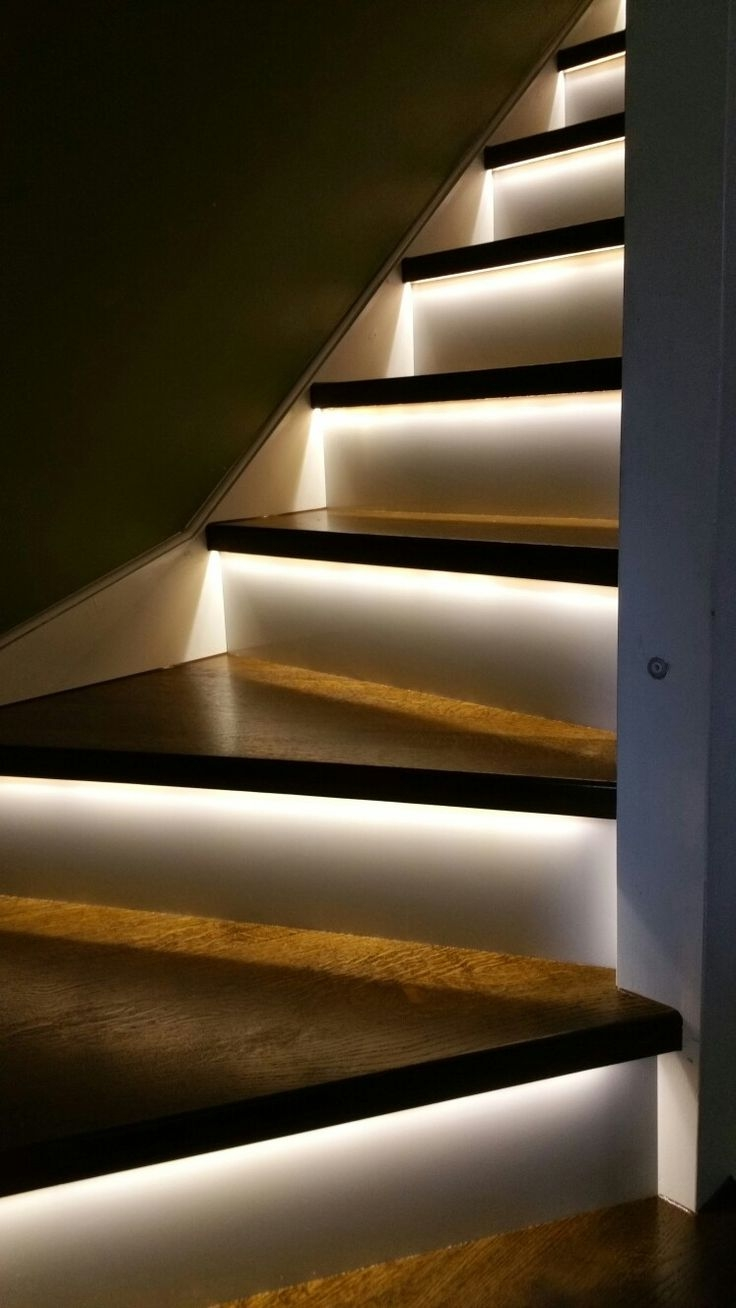 Lighting Basement Washroom Stairs: 20 Best Collection Of Fabric Stair Treads