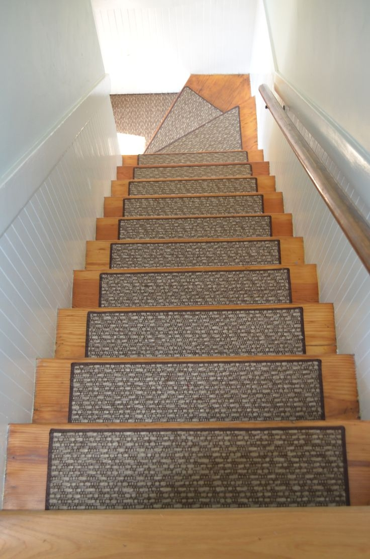 25 Best Wall To Wall Stair Runnersstair Treads Images On Pertaining To Stair Tread Carpet Runners (#1 of 20)