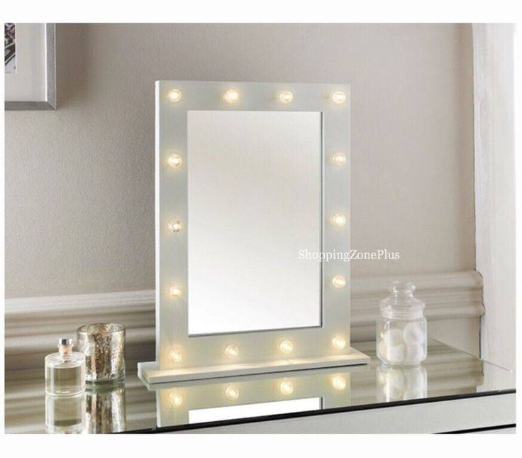 25+ Best White Gloss Dressing Table Ideas On Pinterest | Neutral Throughout Free Standing Dressing Table Mirrors (#4 of 30)