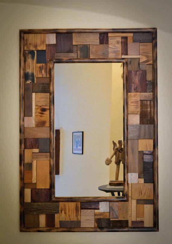 25+ Best Wood Mirror Ideas On Pinterest | Circular Mirror, Wood Pertaining To Wooden Mirrors (#3 of 30)