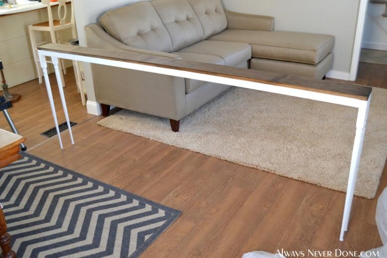 25 Sofa Table Tutorial Regarding Sofa Drink Tables (View 2 of 15)