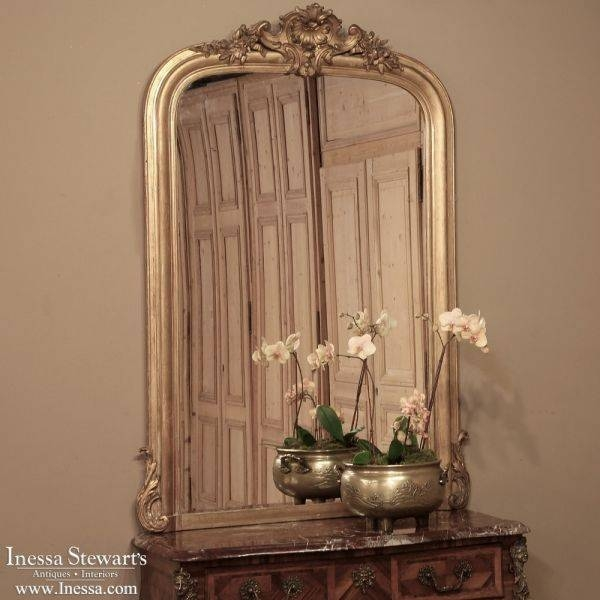 253 Best Antique Mirrors And Trumeaux Images On Pinterest With Antique French Mirrors (View 9 of 20)
