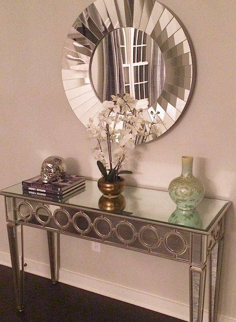 257 Best Mirrors Images On Pinterest | Home, Mirror Mirror And Mirrors Within Decorative Table Mirrors (View 4 of 30)