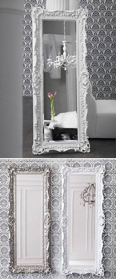 Viewing Photos of White Baroque Floor Mirrors (Showing 15 of 20 Photos)