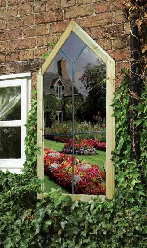 26 Best Garden Mirrors Images On Pinterest | Garden Mirrors, Wall With Gothic Garden Mirrors (#7 of 30)