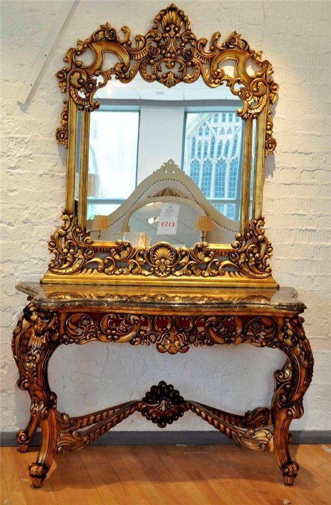 Famous 20 Ideas of Antique Gold Mirrors French XQ79