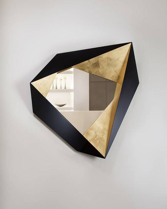 26 Unique Modern Mirrors That Completely Change The Space – Digsdigs Inside Unique Mirrors (#3 of 20)