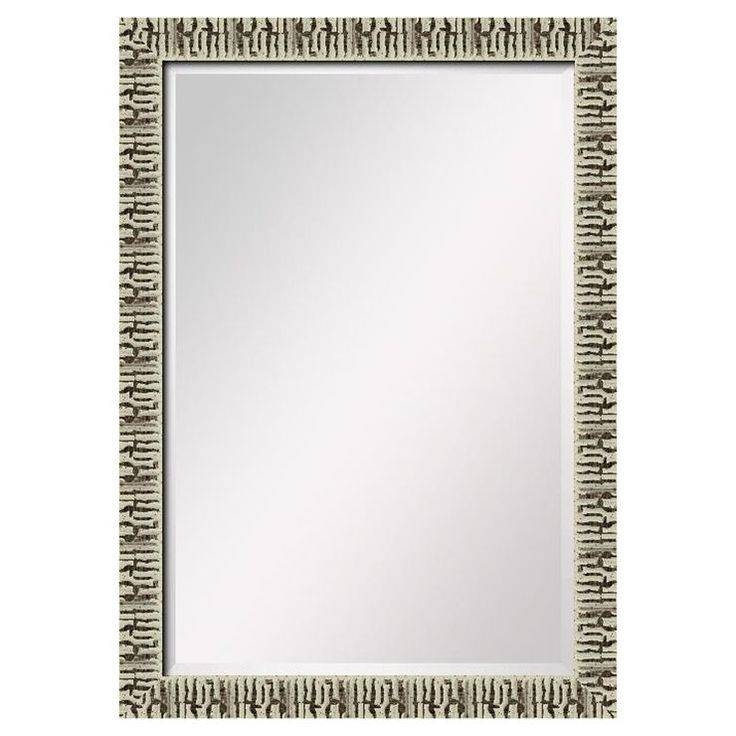 27 Best Bathroom Mirrors Images On Pinterest | Bathroom Mirrors With Distressed Cream Mirrors (#3 of 30)