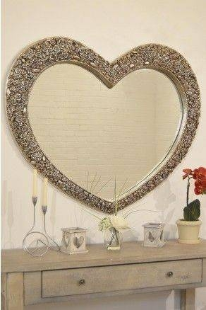 27 Best Decorative Mirrors Images On Pinterest | Decorative Regarding Large Heart Mirrors (View 4 of 15)