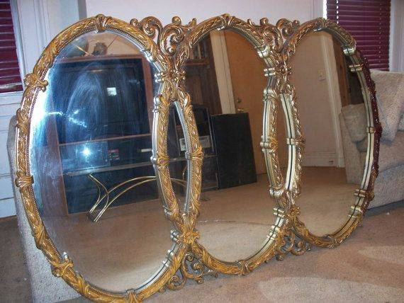 27 Best Gold Mirrors Images On Pinterest | Mirror Mirror, Gold For Large Gold Antique Mirrors (#7 of 30)