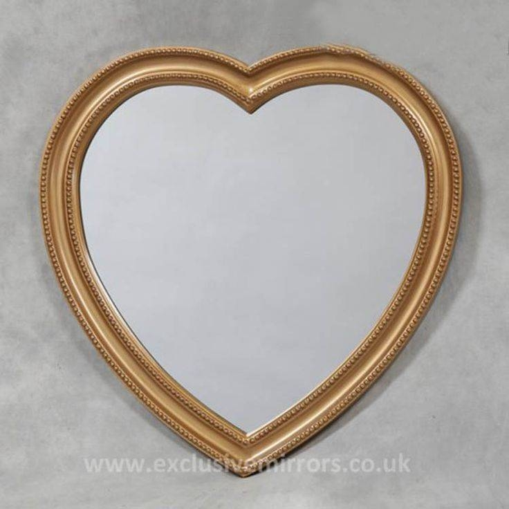 27 Best Heart Shaped Mirrors Images On Pinterest | Heart Shapes Pertaining To Heart Shaped Mirrors For Walls (View 17 of 30)