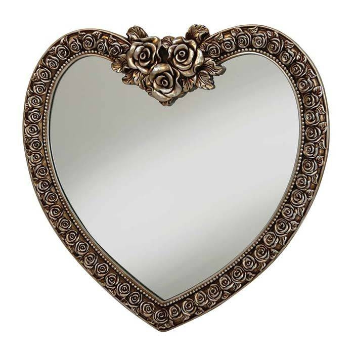 27 Best Heart Shaped Mirrors Images On Pinterest | Heart Shapes Pertaining To Heart Shaped Mirrors For Walls (View 12 of 30)