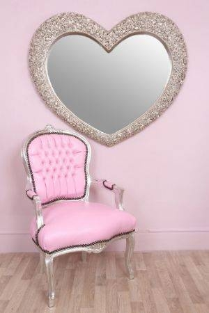 27 Best Heart Shaped Mirrors Images On Pinterest | Heart Shapes Regarding Large Heart Mirrors (View 5 of 15)