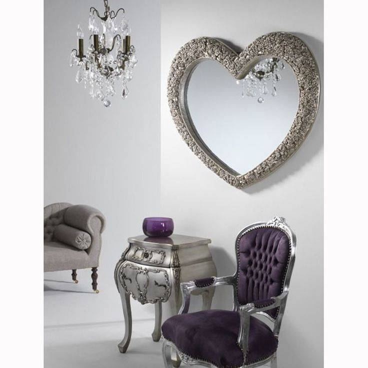 27 Best Heart Shaped Mirrors Images On Pinterest | Heart Shapes Within Gold Heart Mirrors (#7 of 30)