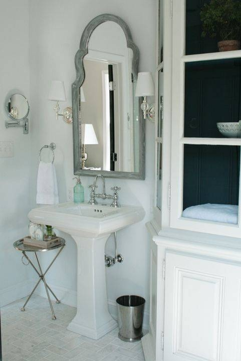 27 Best Master Bath Mirror And Sconces Images On Pinterest Regarding Arched Bathroom Mirrors (#4 of 20)