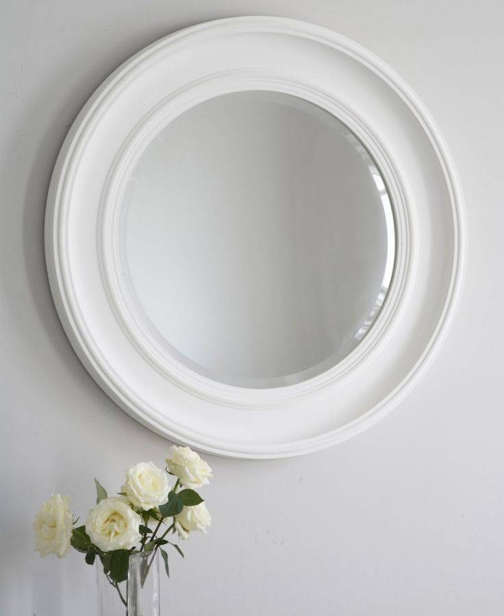 27 Best Mirrors Images On Pinterest | Mirror Mirror, Convex Mirror Intended For White Round Mirrors (#4 of 30)