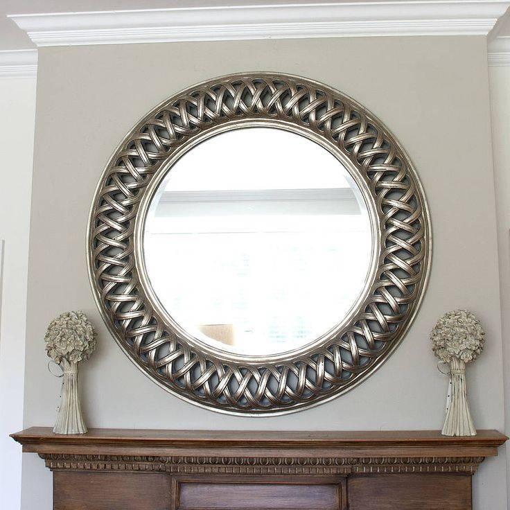 27 Best Round Mirrors Images On Pinterest | Round Mirrors, Round With White Round Mirrors (#5 of 30)