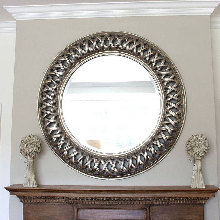 27 Best Round Mirrors Images On Pinterest | Round Mirrors, Round Within Champagne Silver Mirrors (#1 of 15)