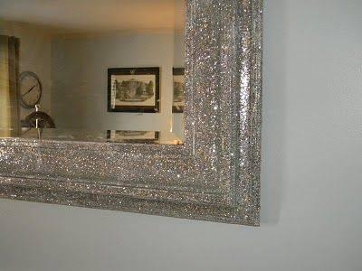 270 Best Mirror Crafts Images On Pinterest | Diy Mirror, Mirror Throughout Glitter Frame Mirrors (#1 of 20)