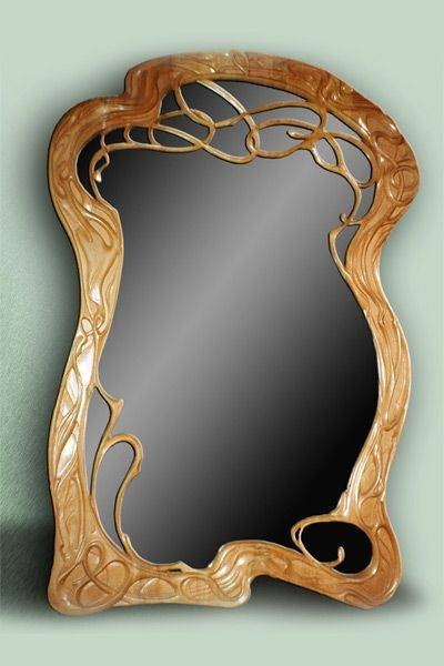 271 Best Frames And Mirrors Images On Pinterest | Picture Frames Throughout Art Nouveau Wall Mirrors (#1 of 20)
