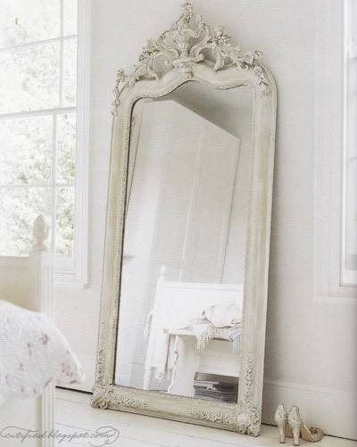 277 Best Vintage Romance Images On Pinterest | Shabby Chic Intended For Shabby Chic White Mirrors (#7 of 30)