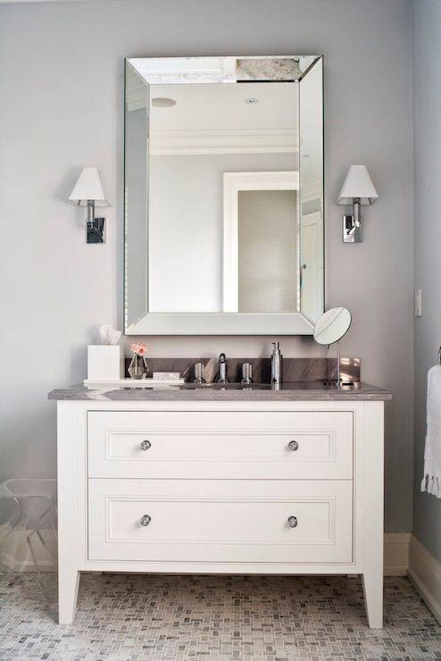 28 Best Mirror Images On Pinterest | Beveled Mirror, Mirror Mirror For Bevelled Bathroom Mirrors (#2 of 20)