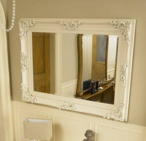 28 Best Mirrors Images On Pinterest | Floor Mirrors, Reclaimed With Large Cream Mirrors (#3 of 30)