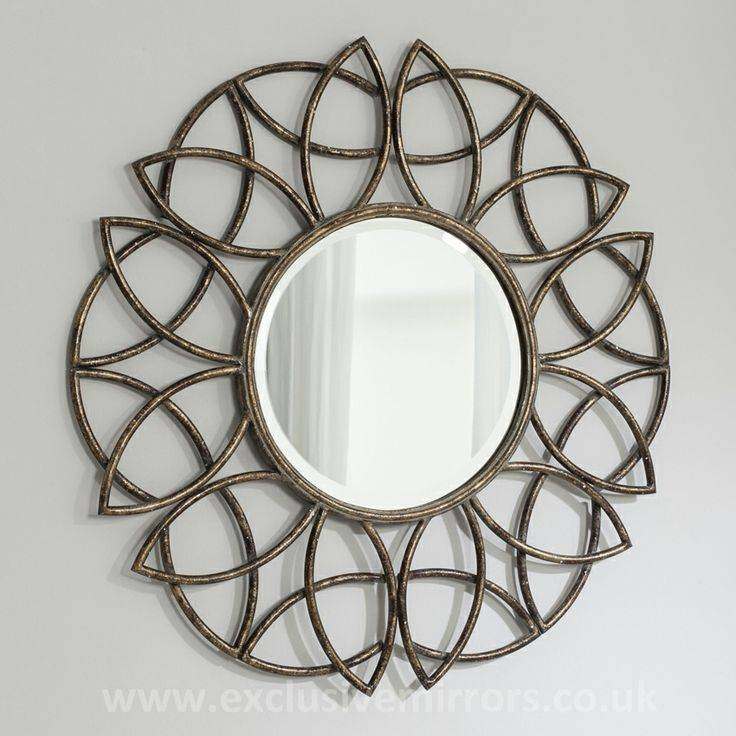 28 Best Mirrors Images On Pinterest   Wall Mirrors, Mirror Mirror With Large Round Gold Mirrors (View 7 of 30)
