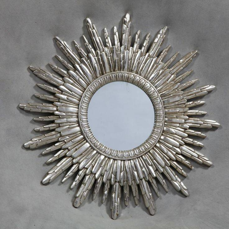 28 Best Mirrors Images On Pinterest | Wall Mirrors, Mirror Mirror With Regard To Silver Round Mirrors (#4 of 30)