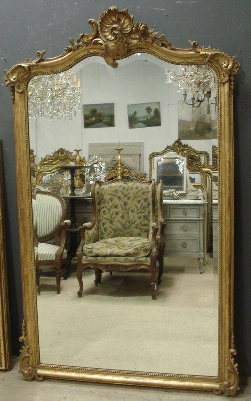 280 Best Antique Mirrors Images On Pinterest | Antique Mirrors With Large Antique Mirrors (#1 of 30)